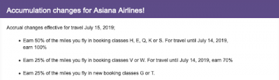 July 12 Update: Aeroplan mileage accumulation changes on Asiana, Destination Hotels joining World of Hyatt in August, 20x PC Optimum Points at Shoppers on July 13