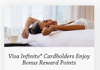 Visa Infinite Exclusive Offer: 500 bonus ALL Accor Live Limitless points for stays Fairmont Hotels & other Accor locations + MORE Mar 27th