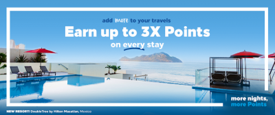 May 5 Update: Earn up to 3x points on Hilton stays, Save 25% on food gift cards with RBC Rewards & new hotel openings in Canada update! + MORE May 5th