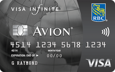 Last day to grab the RBC Visa Infinte Avion card with up to 25,000 points and no annual fee in the first year