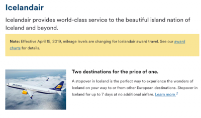 April 9 Update: Alaska Airlines increasing mileage redemption rates for Icelandair economy class, bonus Petro-Points for RBC linked cards and 4x Aeroplan miles at Costco.ca