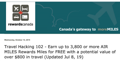 July 8 Update: Travel Hacking 102 Update, Flair Air now flying Toronto to Calgary and Vancouver & more!