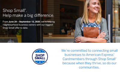 Amex Shop Small promotion returns for the summer and it's better than ever - earn up to $50 in statement credits nationwide!