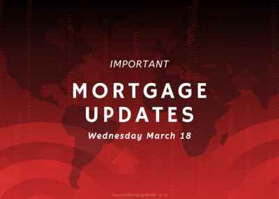 Important Mortgage Updates 03-18-2020