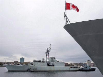 Canada's last Cold War destroyer retires after one last sail Mar 10th