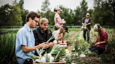 Organic Farming Training: Get your hands dirty in Quebec + MORE Jan 12th
