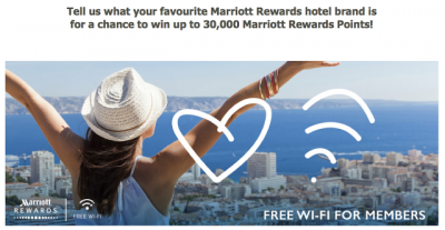 August 23 Update: Enter to win up to 30,000 Marriott Rewards Points, new AIR MILES Prize Pool promo and more! Aug 23rd