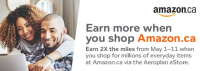 May 7 Update: Aeroplan Amazon giveaway winner, Hotel Collection added to Cobalt Card, 4th night free at Conrad Hotels