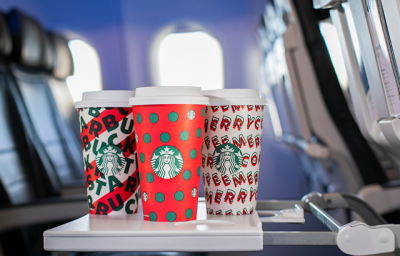 November 7 Update: Show your Starbucks Holiday Cup to get priority boarding on Alaska Airlines, win tickets to the CFL West Final with Canalta Rewards and 12 new miles & points bonuses