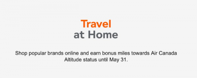 TD Aeroplan cards will also earn 5 extra miles per dollar spent when shopping online via the Aeroplan eStore until May 31 + MORE May 13th