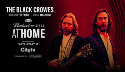 American Express Experiences presents a virtual concert with The Black Crowes and The Trews on May 30